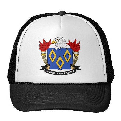 Escudo de la familia de Wardlow Gorros Bordados
