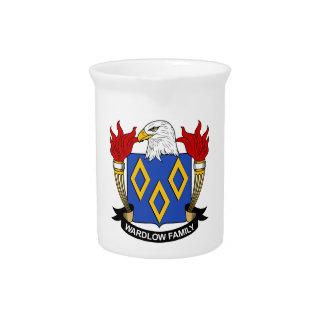 Escudo de la familia de Wardlow Jarra De Beber