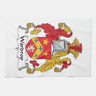 Escudo de la familia de Wardrop Toallas