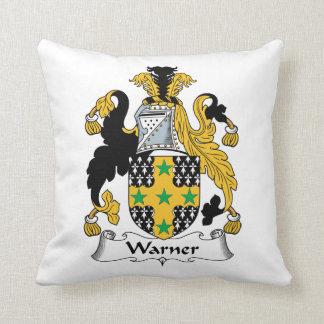 Escudo de la familia de Warner Cojin