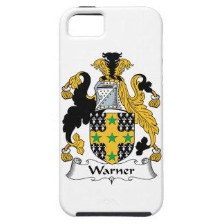 Escudo de la familia de Warner iPhone 5 Cárcasa