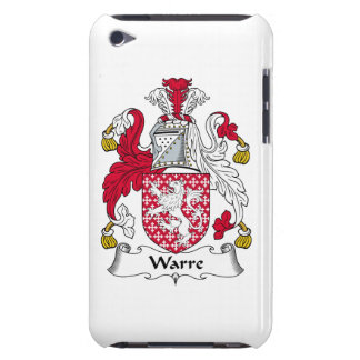 Escudo de la familia de Warre Barely There iPod Protectores