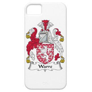 Escudo de la familia de Warre iPhone 5 Case-Mate Cárcasa