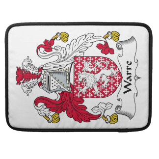 Escudo de la familia de Warre Fundas Para Macbooks