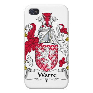 Escudo de la familia de Warre iPhone 4 Cobertura