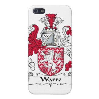 Escudo de la familia de Warre iPhone 5 Funda