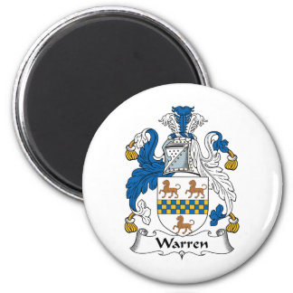 Escudo de la familia de Warren Imán