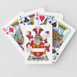 Escudo de la familia de Warwick Baraja Cartas De Poker