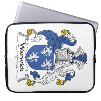 Escudo de la familia de Warwick Fundas Ordendadores