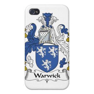 Escudo de la familia de Warwick iPhone 4 Coberturas