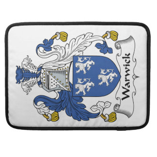 Escudo de la familia de Warwick Funda Macbook Pro
