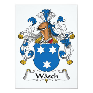 Escudo de la familia de Wasch Anuncio