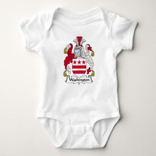 Escudo de la familia de Washington Body Para Bebé