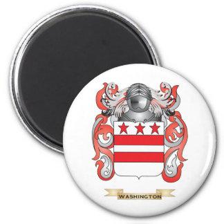 Escudo de la familia de Washington (escudo de arma Iman Para Frigorífico