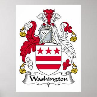Escudo de la familia de Washington Impresiones