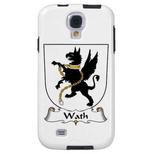 Escudo de la familia de Wath Funda Para Galaxy S4