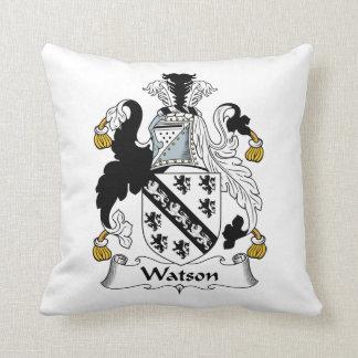 Escudo de la familia de Watson Almohada