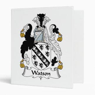 """Escudo de la familia de Watson Carpeta 1"""""""