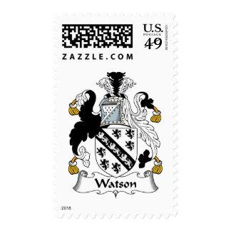Escudo de la familia de Watson Franqueo