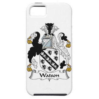 Escudo de la familia de Watson iPhone 5 Case-Mate Protector