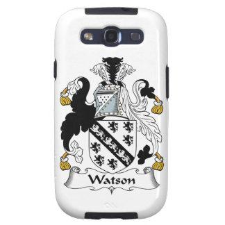 Escudo de la familia de Watson Galaxy SIII Coberturas