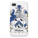 Escudo de la familia de Watson iPhone 4/4S Carcasas
