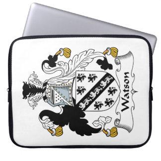 Escudo de la familia de Watson Fundas Computadoras