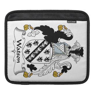 Escudo de la familia de Watson Fundas Para iPads