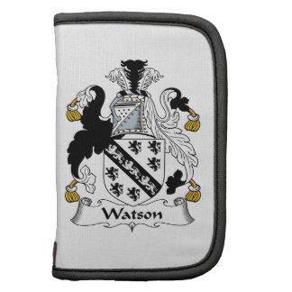 Escudo de la familia de Watson Organizador