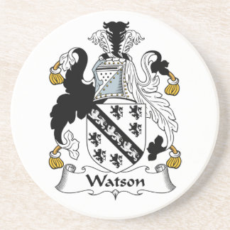 Escudo de la familia de Watson Posavasos Para Bebidas