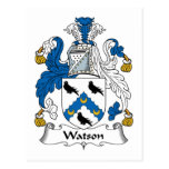 Escudo de la familia de Watson Postal