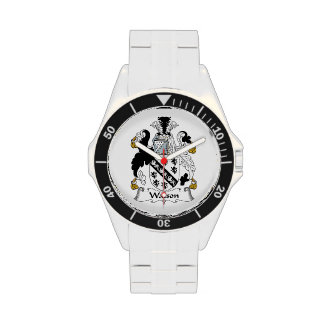 Escudo de la familia de Watson Relojes
