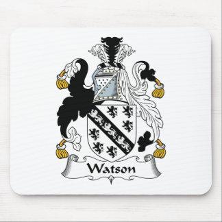 Escudo de la familia de Watson Alfombrillas De Ratones