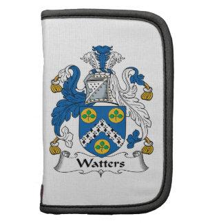 Escudo de la familia de Watters Planificador