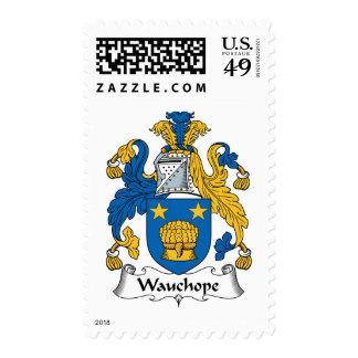 Escudo de la familia de Wauchope Franqueo