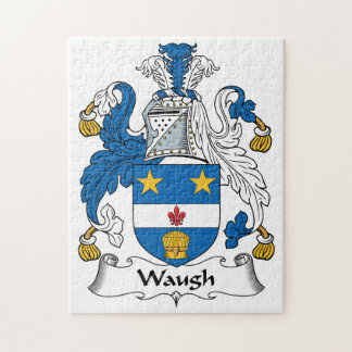 Escudo de la familia de Waugh Rompecabeza