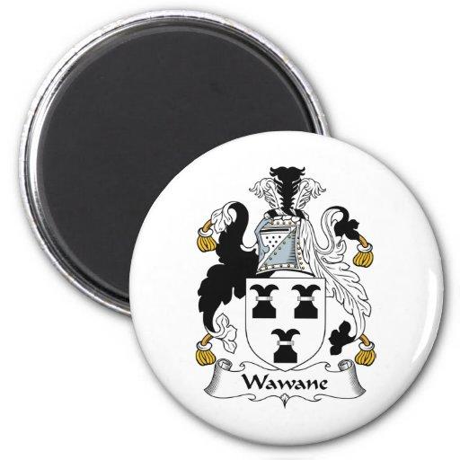 Escudo de la familia de Wawane Iman