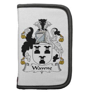 Escudo de la familia de Wawne Planificador