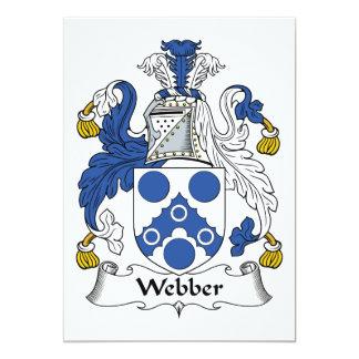 Escudo de la familia de Webber Anuncio