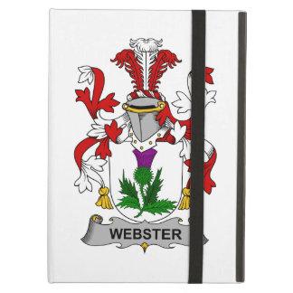 Escudo de la familia de Webster