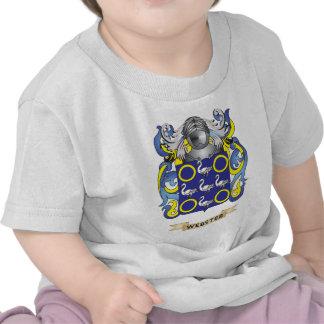 Escudo de la familia de Webster escudo de armas Camiseta