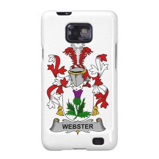 Escudo de la familia de Webster Samsung Galaxy S2 Carcasas