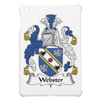 Escudo de la familia de Webster iPad Mini Cárcasas