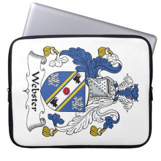 Escudo de la familia de Webster Mangas Portátiles