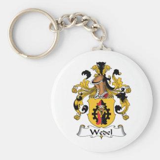 Escudo de la familia de Wedel Llavero Personalizado