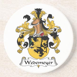 Escudo de la familia de Wedemeyer Posavaso Para Bebida