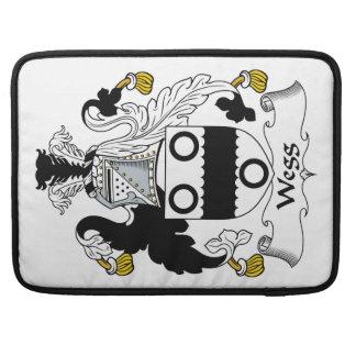 Escudo de la familia de Wegg Funda Macbook Pro