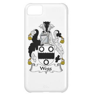 Escudo de la familia de Wegg Funda Para iPhone 5C