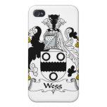 Escudo de la familia de Wegg iPhone 4/4S Carcasa