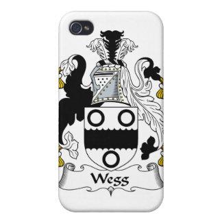 Escudo de la familia de Wegg iPhone 4/4S Carcasas